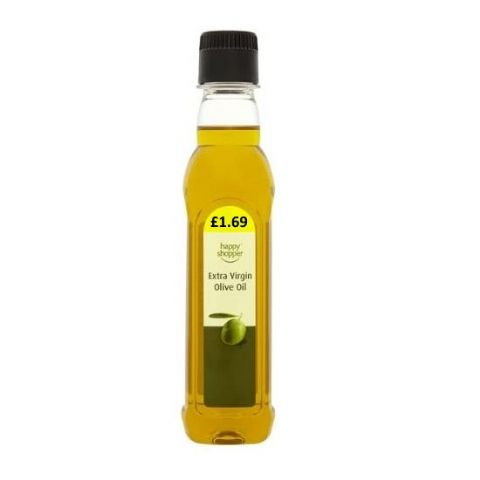 Extra Virgin Olive Oil Happy Shopper 250ml